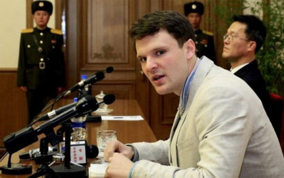 US Student Caught Stealing Propaganda in North Korea