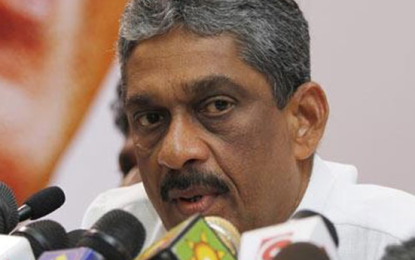 No Confidence Motion Against Sarath Fonseka Too?