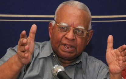 Power Sharing  Under  Undivided  Srilanka Accepted By Sampanthan