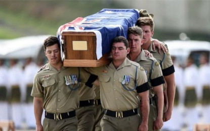 War Remains of 33 Australian Military Personnel Repatriated from Malaysia and Singapore