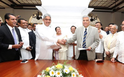 Sarath Fonseka obtains UNP Membership & Appointed Kelaniya Chief Organizer