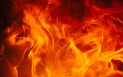 Fire in Galle Olcott Maha Vidyalaya (UPDATE)