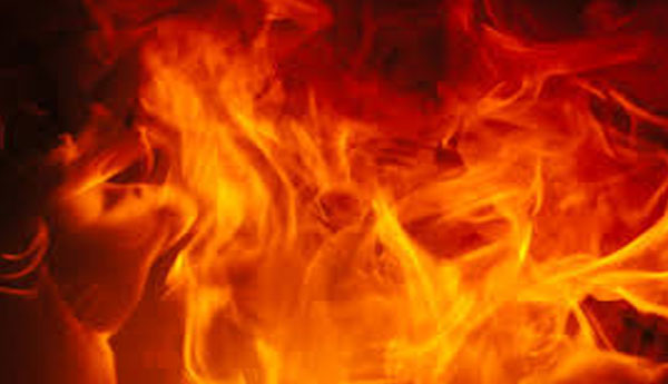 Fire in Kotagala forest area