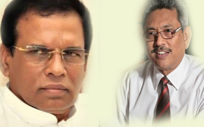 Maithri-Gota union planned by China?