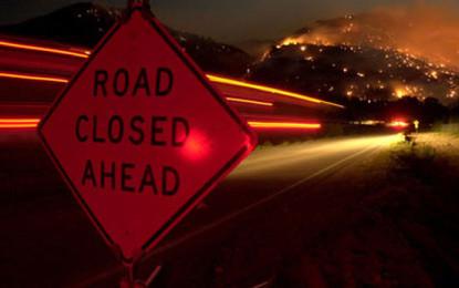 Road Closure in Kotahena