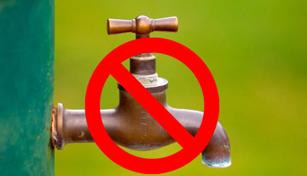 Eleven-Hour Water Cut In Several Areas Tomorrow
