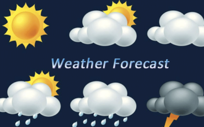 Weather Forecast For 18th February 2018