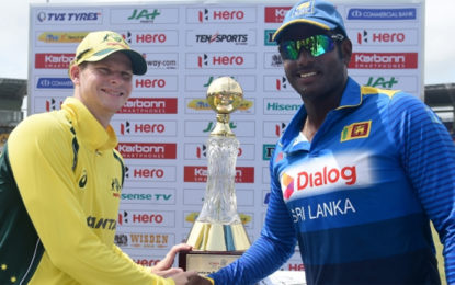 Srilanka Won the Toss and Elected to Bat in 4th ODI