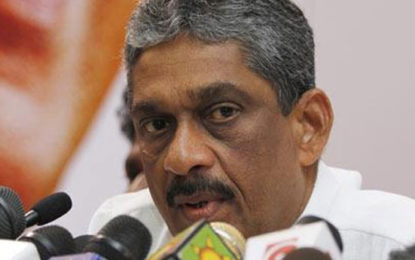 Sarath Fonseka Expressed His Discontent Over Corrupt Politicians Not Yet Punished.