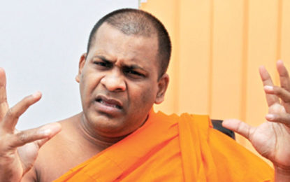 Watareka VijithaThero Lodged a  Police Complaint Against Gnasara Thero