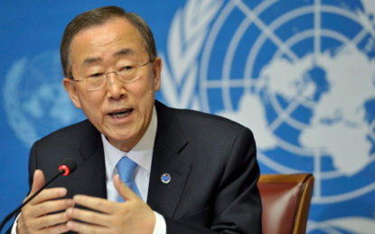 Ban Ki-moon Leaves UN After Emotional Speech
