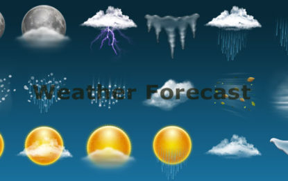 WEATHER FORECAST FOR 16thJUNE 2018