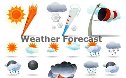 Weather Forecast For 17th September 2017