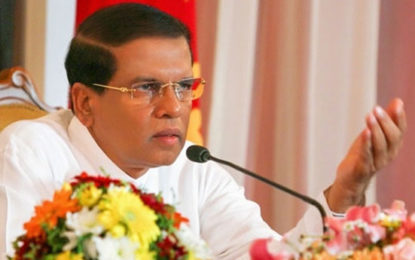 Economic Affairs Taken Over From UNP by President….