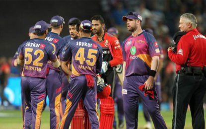 IPL 2017, RPS vs RCB: Bangalore suffer another collapse, RPS win by 61 runs