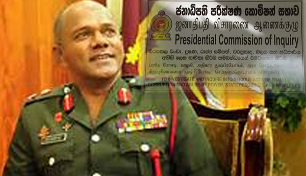 Former Army Commander Lt. General  Summoned by the Presidential Commission Today