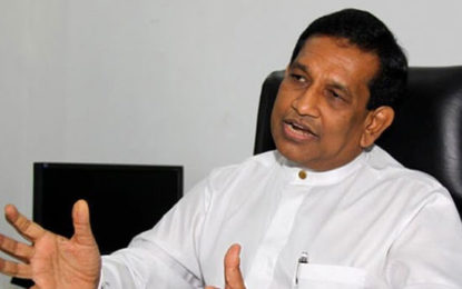 Rajitha Senaratna to be the Minister of Law & Order ?