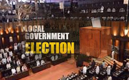Local Government  Election Amendment Bill in the Mid of  August