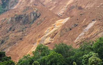 Landslide Warning in Two Districts