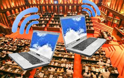Parliamentarians Receives Laptops With WIFI Facilities
