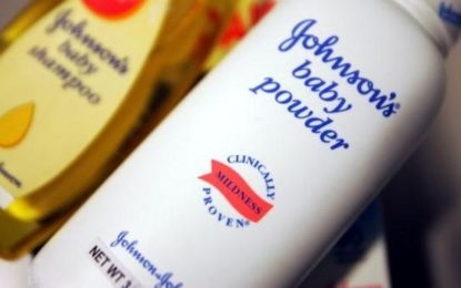 Johnson & Johnson Faces $417m Pay out in Latest Talc Case