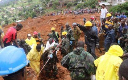 Sierra Leone Mudslide: At least 600 still Missing in Freetown