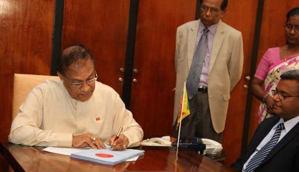 Speaker Signed LG  Election Bill