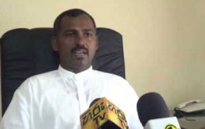 Minister B.Denishwaran Of the NPC Declared that He Won't Resign