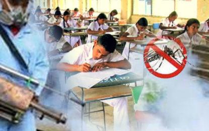 Precautionary Measures to Prevent Dengue in Examination Centers