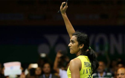 PV Sindhu Begins World Badminton Championships With Dominating Win