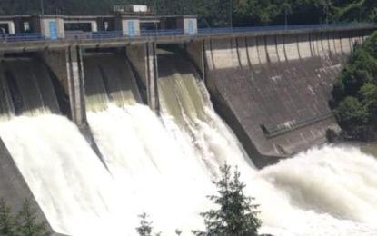 Kukule Ganga Dam Sluice Gate Opened