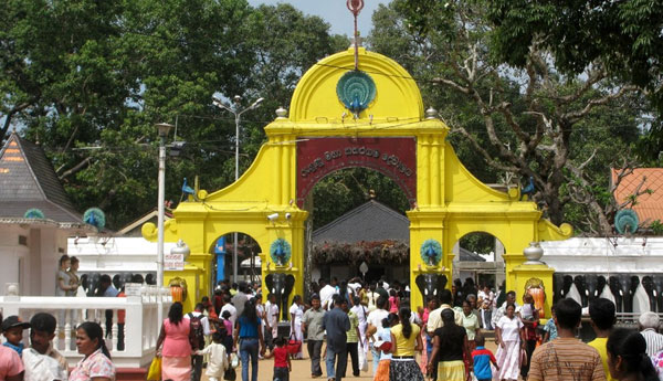 A Special Discussion to Solve Kataragama Temple Conflict