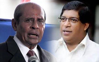 ThilakMarapana to Replace Ravi As Foreign Minister?