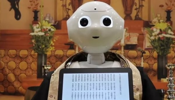 Japanese Robots Trained To Perform Buddhist Funeral Rites