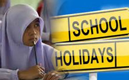 Muslim School Second Term Holiday  Begins Today