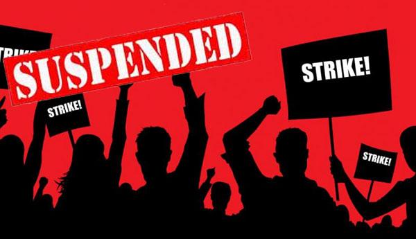 Strike Against  New Inland Revenue Draft Bill Suspended
