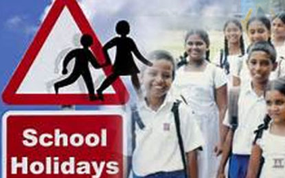 School  2nd Term Holiday  Begins on Friday