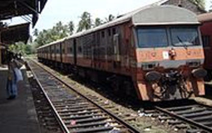 Cancellation of Kelani Valley Route Train Services on Sunday