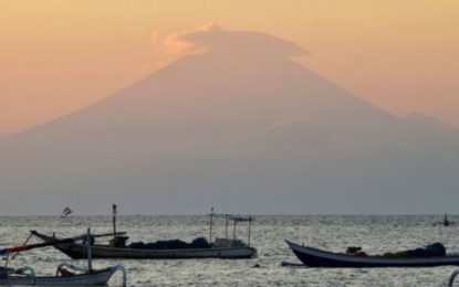 Indonesia: Bali Volcano Highest Alert Issued