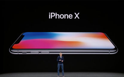 Apple iPhone X Adopts Facial Recognition and OLED Screen