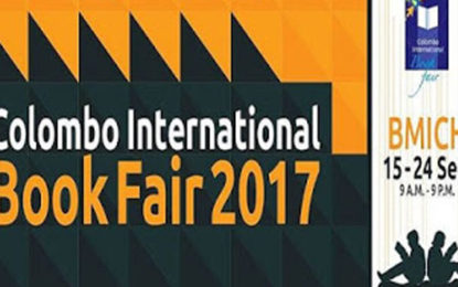 Colombo International Book Fair 2017 at BMICH