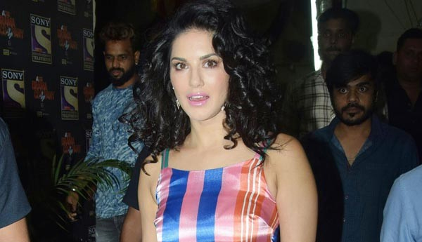 Sunny Leone Looks Like She Just Walked Out Of A Circus