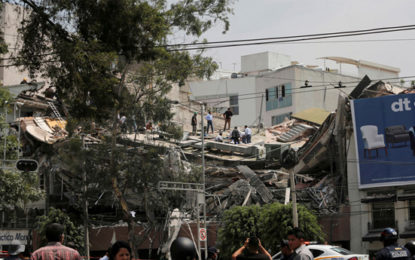Mexico Earthquake: Children Killed At Collapsed Primary School