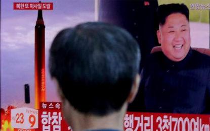 North Korea Fires Intermediate-Range Missile Over Japan, Lands In Pacific Ocean