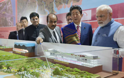India Starts Work On Bullet Train Line With £12bn Loan From Japan