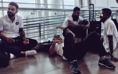 MS Dhoni Relaxes On Chennai Airport Floor, Remains 'Captain Cool', See Pics