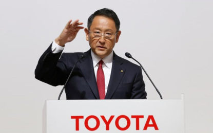 Toyota President Says Will Continue To Make Variety Of Vehicle Types
