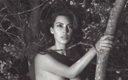 Kim Kardashian wishes old friend Happy Birthday with sexy snap