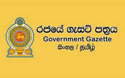 Gazette Notice Issued on Polythene Ban Today
