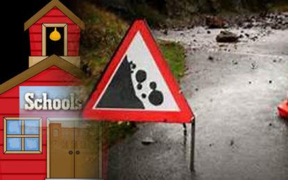 Landslide Warning to 19 Schools in Badulla